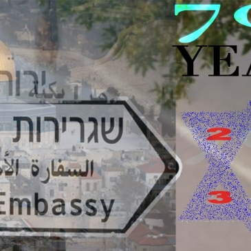 US Embassy to Jerusalem 70 years